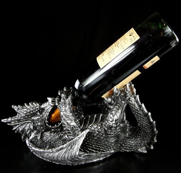 Dragon Wine Bottle Holder - Guzzler