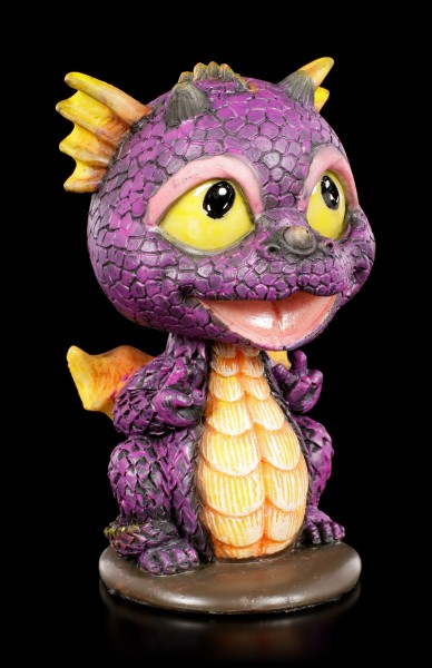 Purple Dragon Bobblehead Figurine