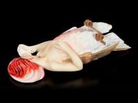 Grounded Harpy Figurine by Sheila Wolk