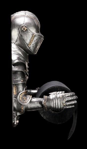 Knight Toilet Paper Holder - Sir Wipealot