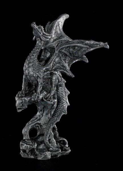 Drachen Figur klein - Schwarz