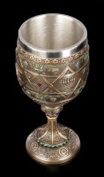 Goblet - David Star Decorated with Menorah