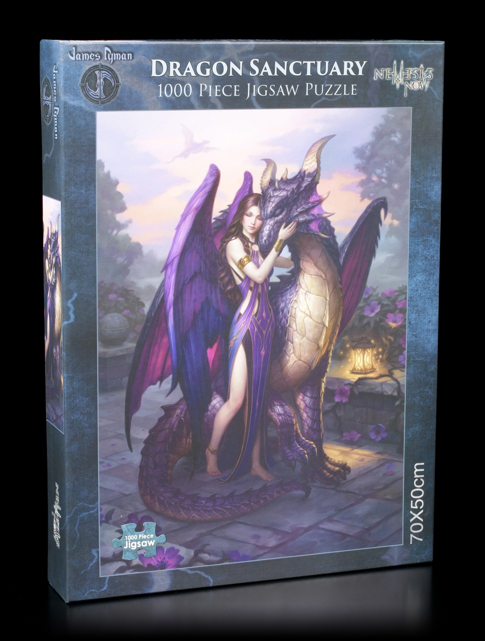 Jigsaw Puzzle with Angel - Dragon Sanctuary
