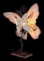 Metal Figurine - Butterfly Lamp