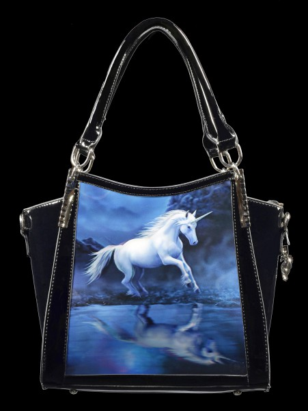 Fantasy Handbag with 3D Picture - Moonlight Unicorn