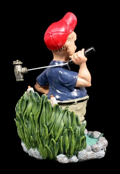 Golfer Figurine in Water - Funny Sports