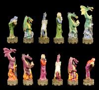 Schachfiguren Set - Märchenhafte Kreaturen