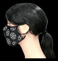 Face Covering Mask - Pentagrams