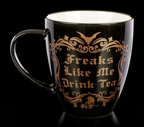 Alchemy Gothic Tasse - Freaks Like Me Drink Tea
