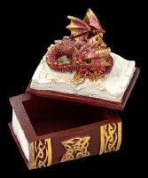 Dragon Box - Bedtime Stories - red