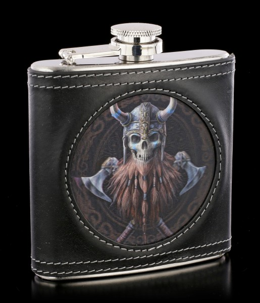 Hip Flask - The Viking 3D