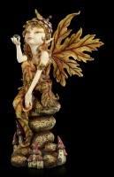 Pixie Elfen Figur - Der Herbst ist da