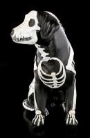 Black Skeleton Dog Figurine - Day of the Dead