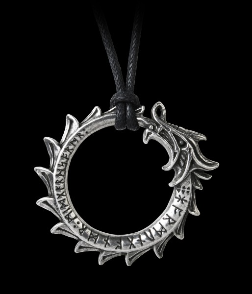 Alchemy Dragon Necklace - Jormungand