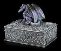 Square Dragon Box purple