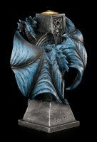Candle Holder Dragon - Draco Candela by Anne Stokes