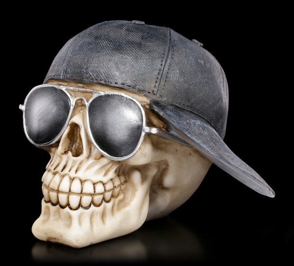 Totenkopf - Sonnenbrille & Baseball Cap