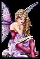 Fairy Figurine - Litera is reading a Book