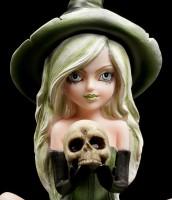 Witch Figurine - Princess Zelda with Skull