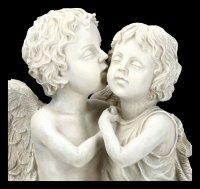 Garden Figurine - Angel Boy and Girl