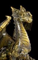 Steampunk Dragon Figurine - Infinity Life