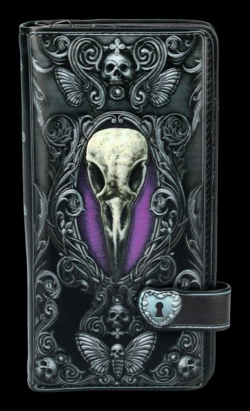 Gothic Purse with Skull - Edgar's Raven