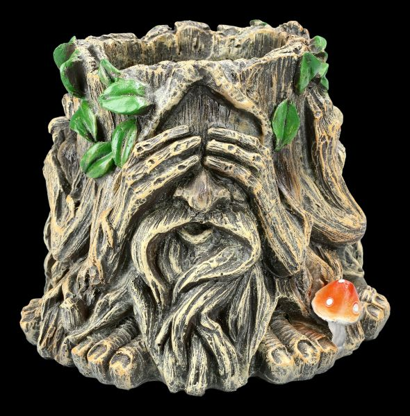 Pflanztopf - Greenman nichts Böses