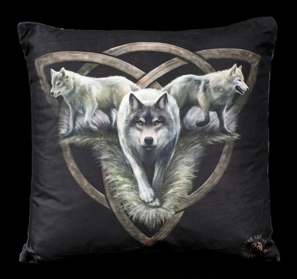 Cushion with Wolf - Soul Bond