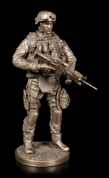 US Army Soldier Figurine - Providing Security