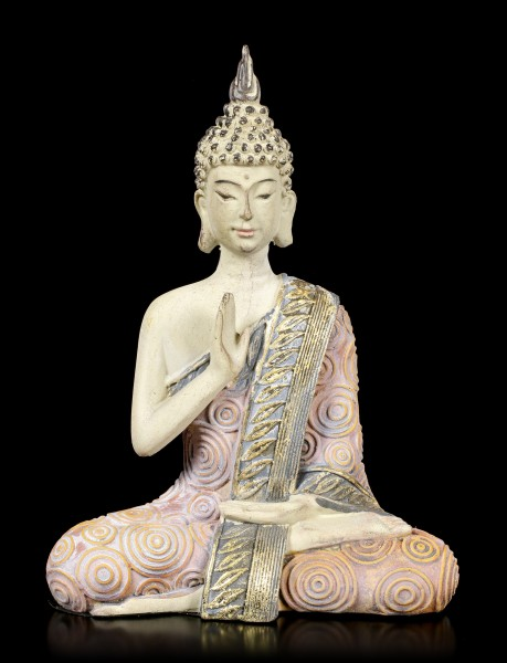 Buddha Figurine Meditating - Hand in front of Chest