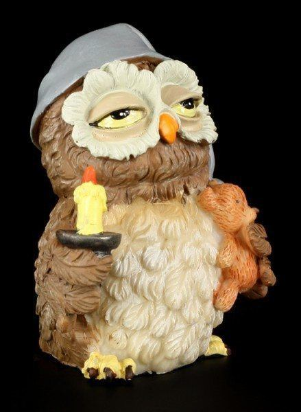 Night Owl - Funny Figurine