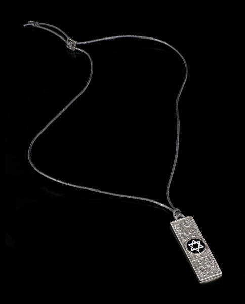 Alchemy Pentragramm Halskette - Principia Alchemystica