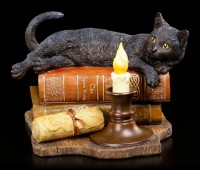 Cat Figurine - Witching Hour by Lisa Parker
