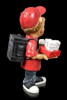 Funny Job Figurine - Food Delivery Boy