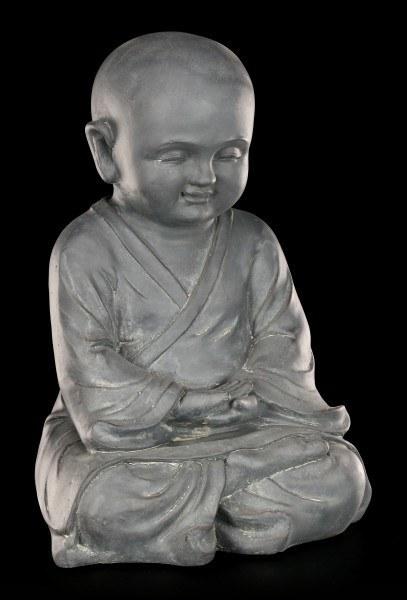 Gartenfigur Buddha - Junger Mönch