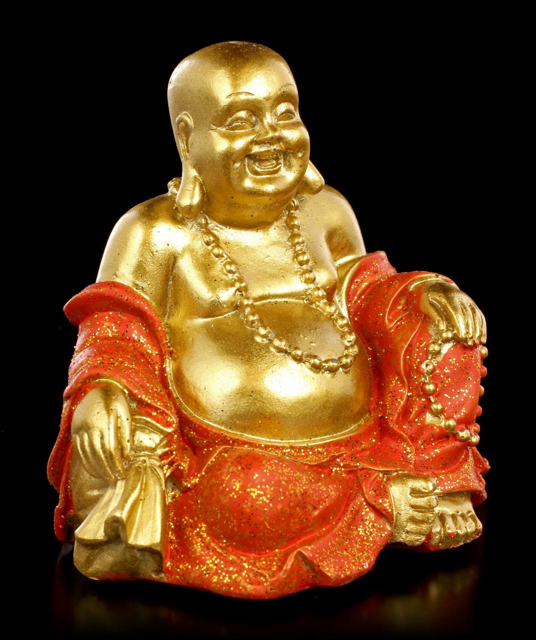 Kleine Buddha Spardose - Good Luck