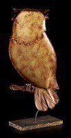 Metal Figurine - Eagle Owl
