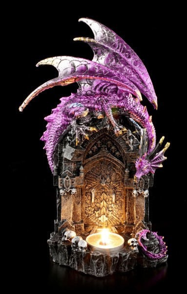 Dragon Tealight Holder - Graceful Light