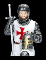 Knight Figure - Templar in loving memory