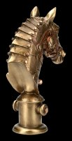 Steampunk Horse Bust - Equus Machina