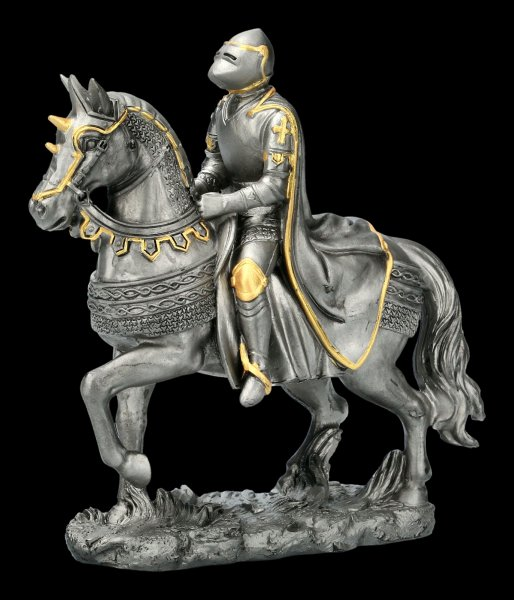 Knight Figurine on War Horse