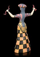 Minoan Snake Goddess from Knossos Figurine