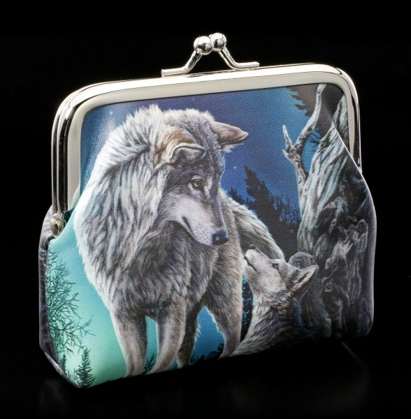 Coin Purse with Wolves - Guidance