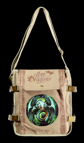 Side Bag with 3D Picture - Jade Emerald Dragon