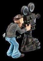 Funny Jobs Figur - Kameramann mit alter Filmkamera