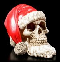 Santa Skull with Beard