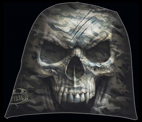 Spiral Totenkopf Beanie - Camo-Skull