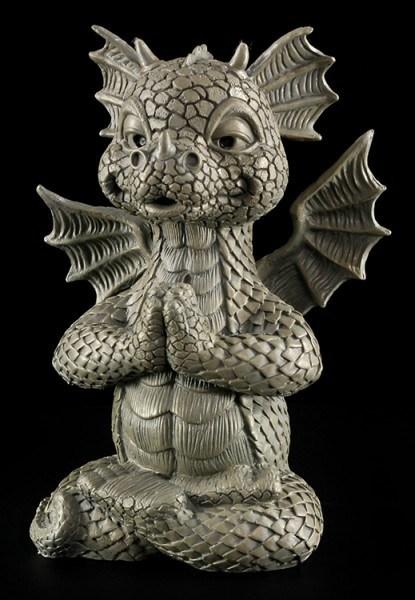Garden Figurine - Dragon Meditation