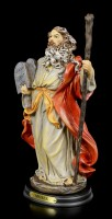 Moses Figur mit den 10 Geboten