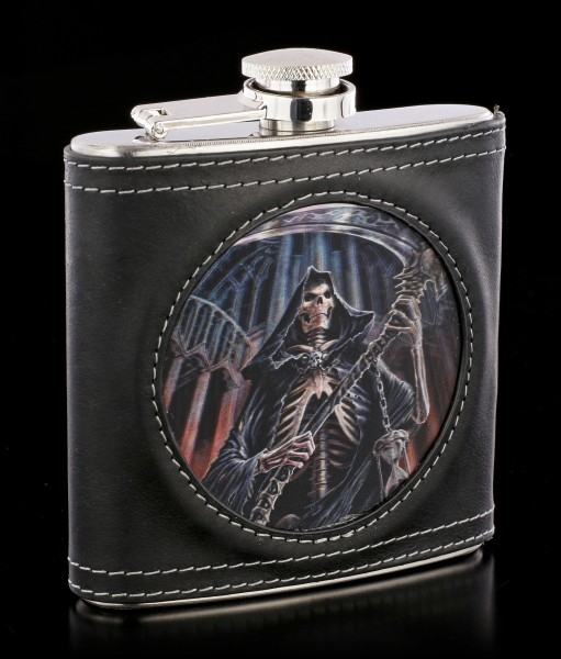 Hip Flask with Reaper - Final Verdict 3D